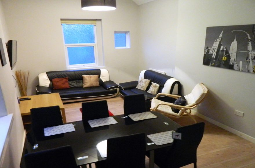 Modeern & Huge 5 Bedroom Student Upper Apartment To Let 98 Heaton Road Newcastle Upon Tyne
