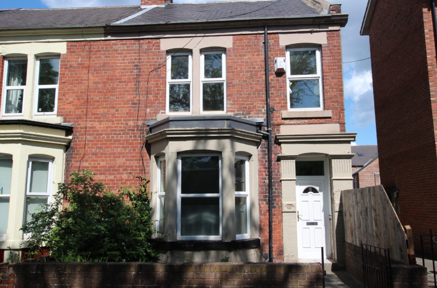 Charming Victorian Terraced 5 Bed Totally Refurbished House To Let Guildford Place, Heaton, Newcastle