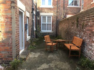 House To Rent on Heaton Road in Heaton Outside Sitting Area