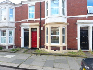 Shortridge Terrace Apartment To Let in Jesmond Front View