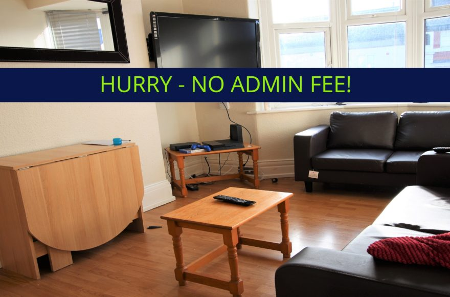NO FEES ON THIS 4 Bed Student Upper Flat on Cartington Terrace To Let in Heaton Newcastle NO FEES