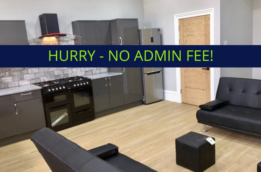 1 Double En-Suite bedroom To Let in a Luxury 4 Bed Professional Apartment in Jesmond Newcastle