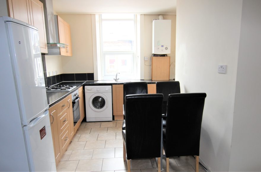 4 Bed Student or Professional Accommodation To Let on Guilford Place Heaton Newcastle Upon Tyne