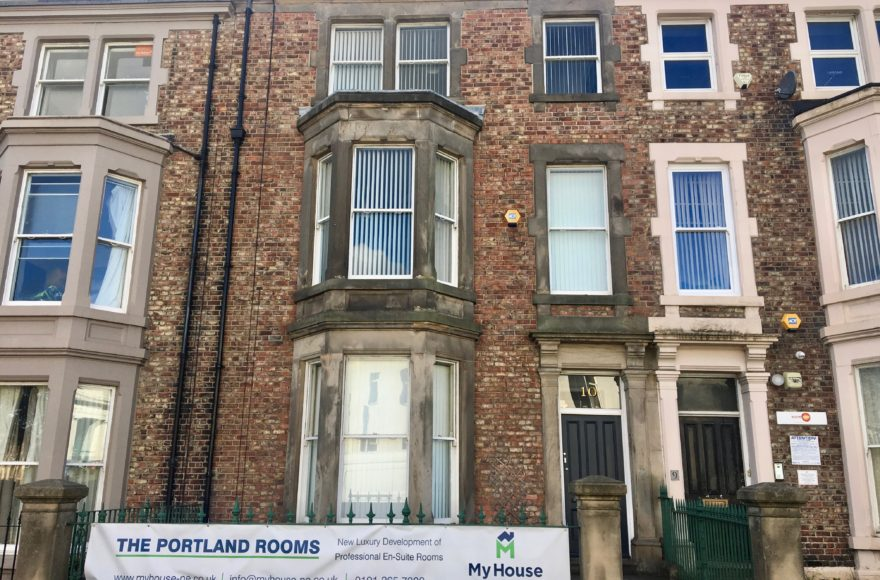 9 Bedroom (all en-suite RARE) Student Superhouse To Let Portland Tce Jesmond Newcastle Upon Tyne