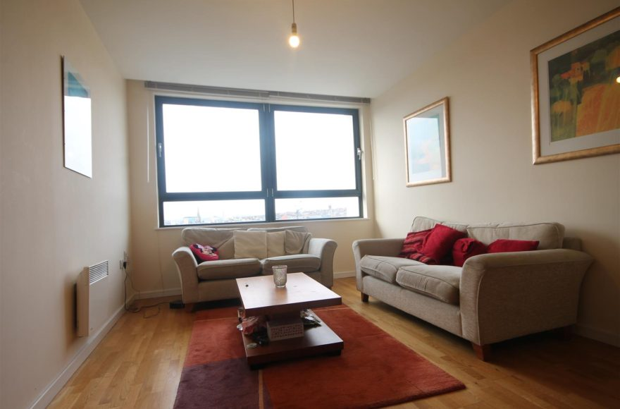 2 Bed Apartment To Rent in (9/14) in 55 Degrees North Building Newcastle Upon Tyne City Center